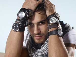 men commercial watch