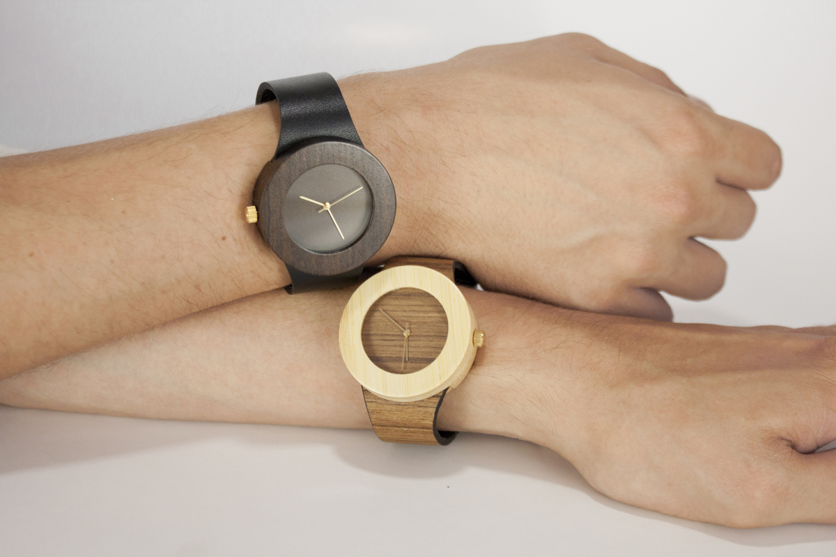 naturally wooden watch