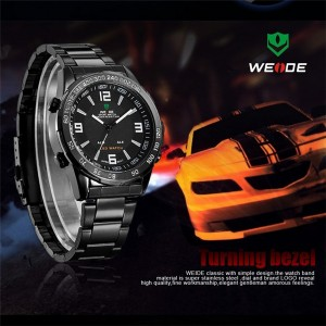 LED Date Multifunction Watch