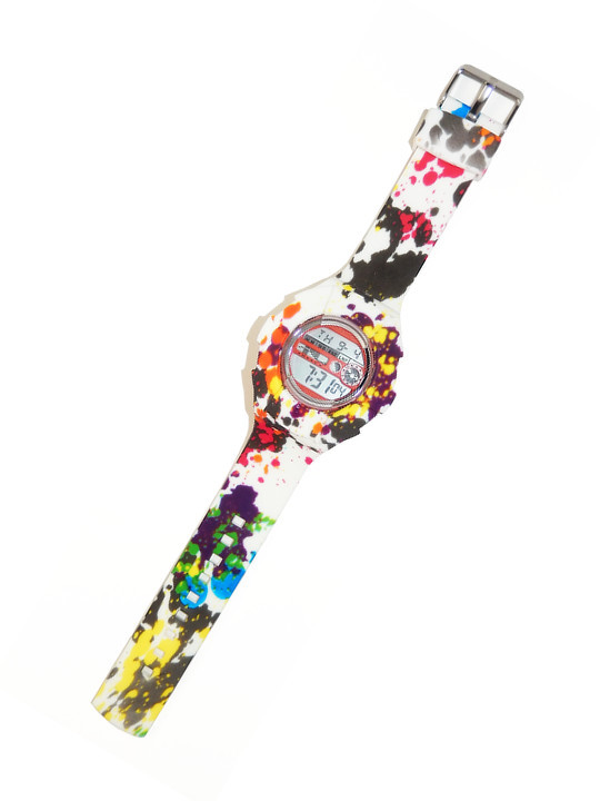 Pastel Flowers Watch Skin