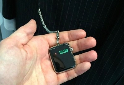 pocket Apple watch