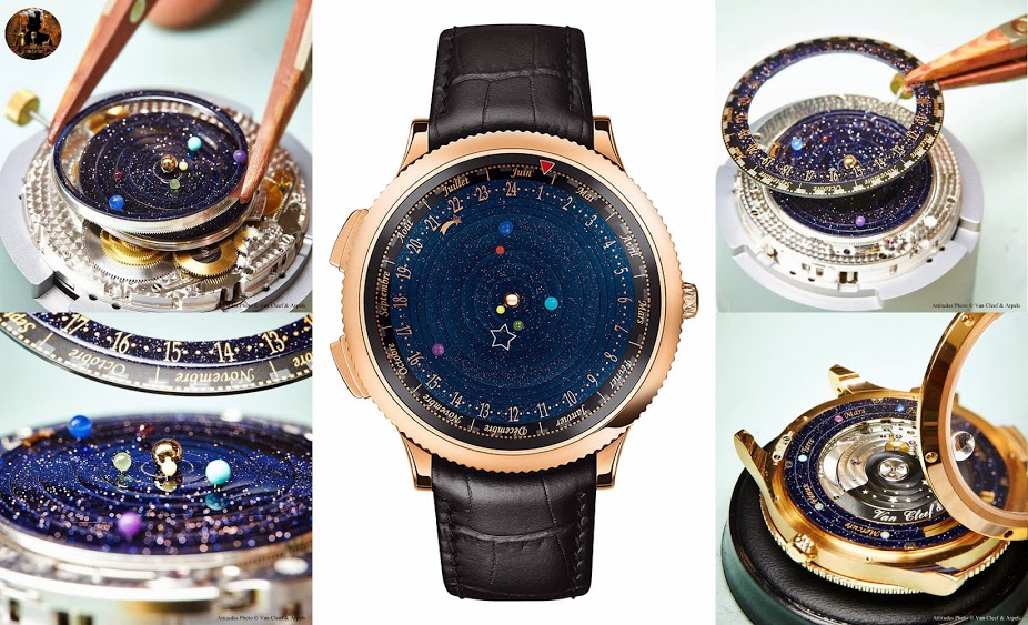 planets rotating wrist watch - photo #11