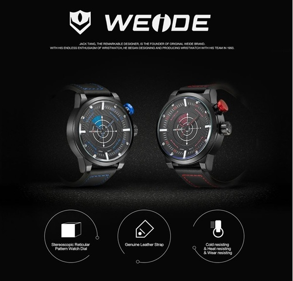 WEIDE strap quartz watch