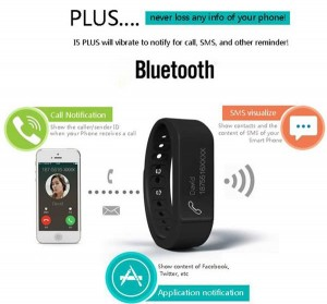 I5 Plus Bluetooth wristband