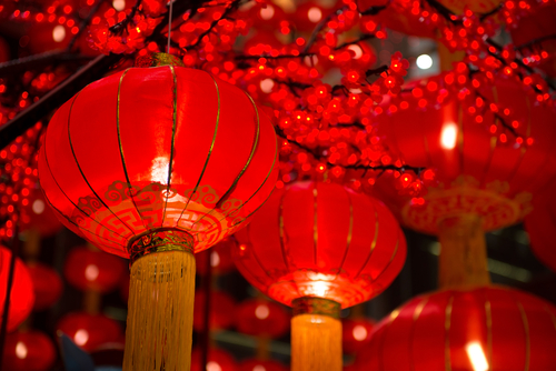lantern on Mid-Autumn Festival