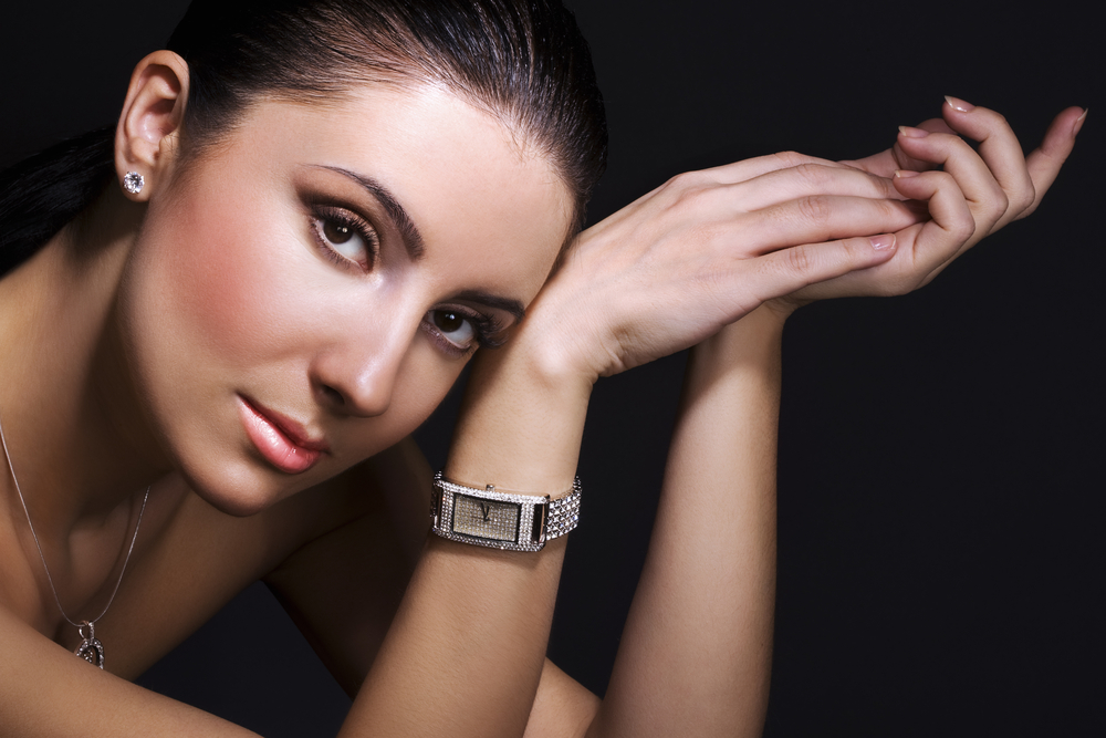 women with watch