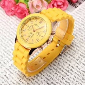 yellow watch
