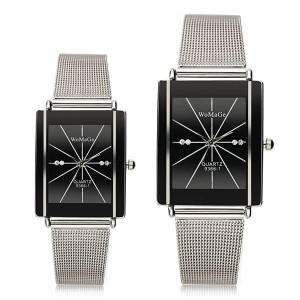 WOMAGE 9366-1 Couple Watch