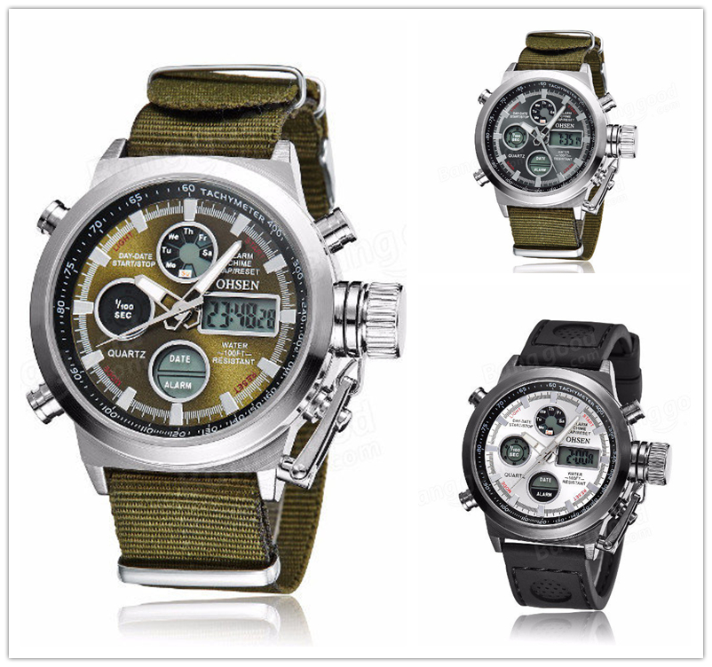 OHSEN 1601 Wrist Watch
