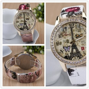 Women Rhinestone Wrist Watch