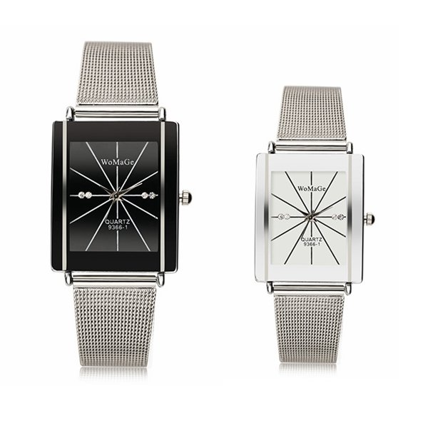 Womage 9366 Couple Watch