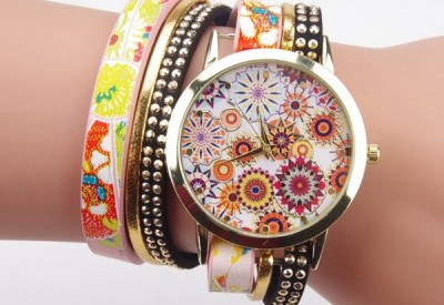Flower Women Quartz Watch