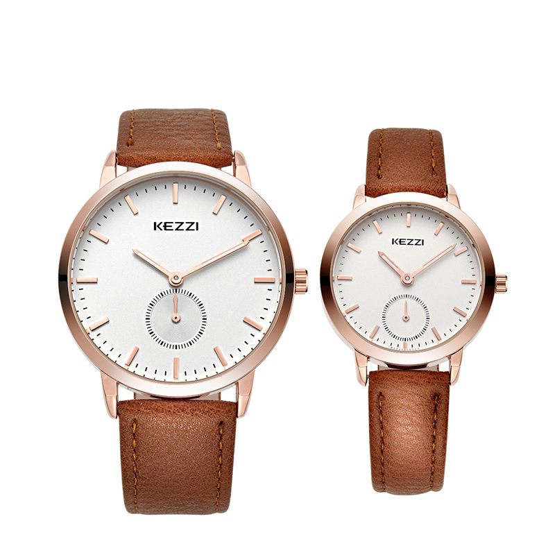 KEZZI Quartz Couple Watch