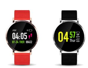 """XANES X88 1.0"""" LCD Color Touch Screen IP65 Waterproof Smart Watch"""