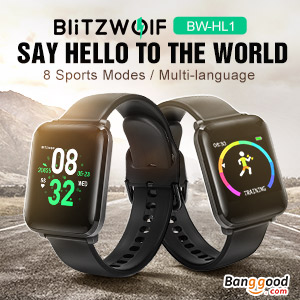blitzwolf smart watch at banggood