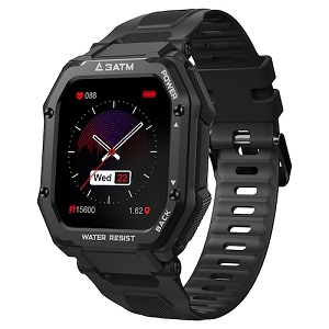 Kospet Rock Smart Watch Review:Super Rugged Watch With 1.69 inch Large Screen
