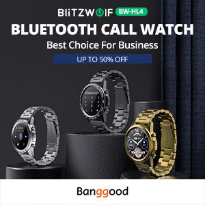 Blitzwolf BW-HL4 Bluetooth Watch With Independent Music Playback at Only $45